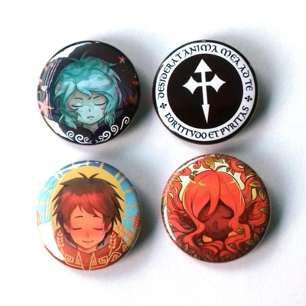 Intégrale badges « Les Murmures d'Ys »